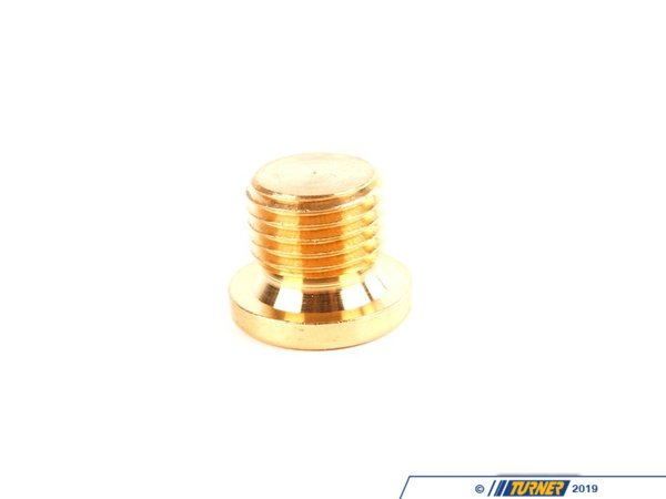 T#6453 - 07119919146 - Genuine BMW Screw Plug - 07119919146 - E30,E34,E36 - Genuine BMW -