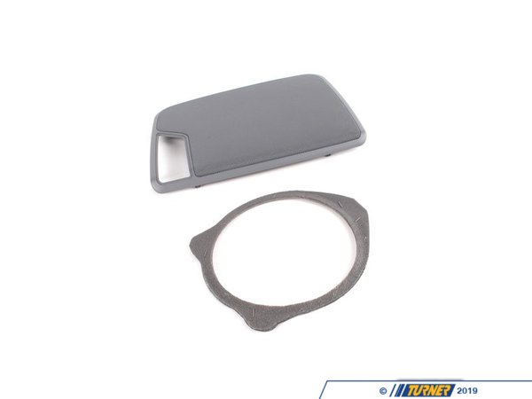T#109735 - 51468243682 - Genuine BMW Cover, Loudspeaker Right Grau - 51468243682 - E46,E46 M3 - Genuine BMW -