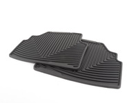 Rear All-Weather Floor Mats - black - E46 E92 Coupe