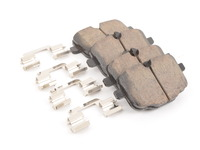 Akebono Rear Euro Ceramic Brake Pad Set -- F06 F07 F10 F12 F13