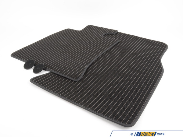 T#110117 - 51470441796 - Genuine MINI Floor Mats Urban Front Dark Grey, Lhd - 51470441796 - Genuine MINI -