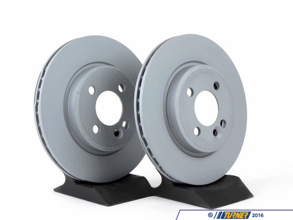 T#1825 - 34116774984 - Front Brake Rotors  - MINI Cooper R50 R53 07/2006+ (pair) - Zimmermann - MINI