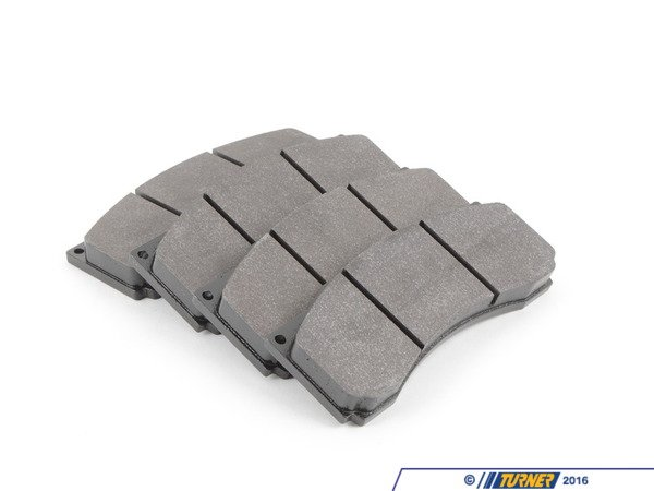 T#216181 - TMS216181 - StopTech Calipers ST60 - Race Brake Pad Set - Hawk DTC-60 - Hawk - BMW