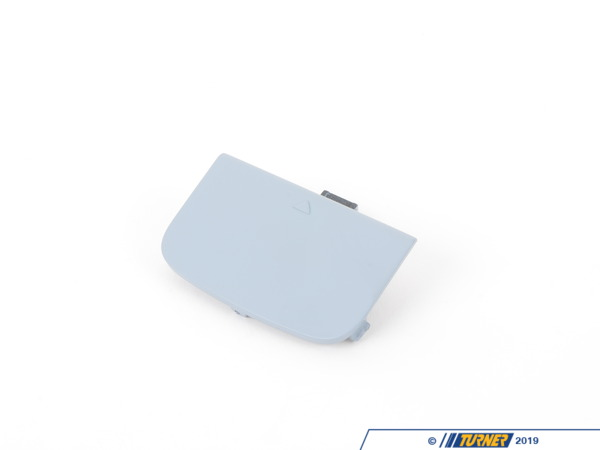 T#76215 - 51117135569 - Genuine BMW Flap, Towing Eye, Primed - 51117135569 - E65 - Genuine BMW -