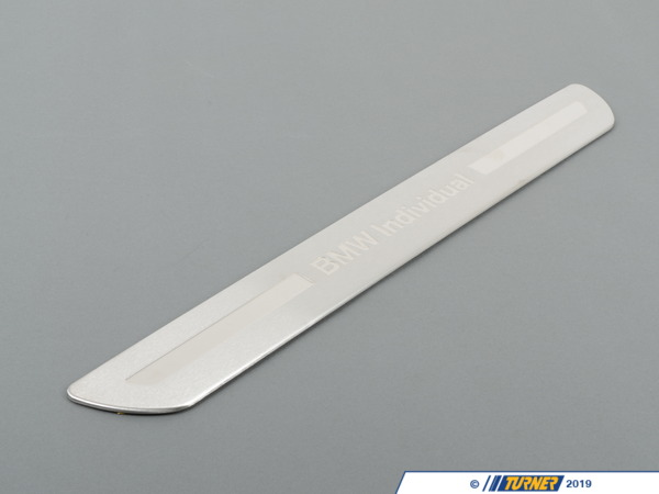 T#112458 - 51478024114 - Genuine BMW Entrance Panel, Stainless St - 51478024114 - Genuine BMW -
