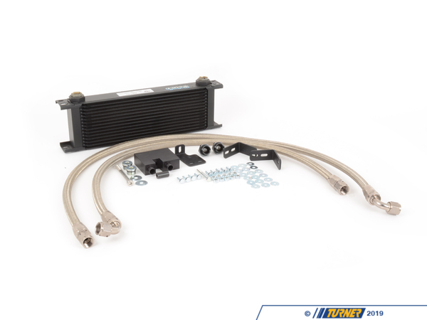 T#11796 - AR-01-05000 - AR Design Ultra-Kool Oil Cooler Kit - Stage 1 - E9X 335i - The N54 engine equipped E9X 335i is reknowned for its excellent performance and the ability to custom tune for more horsepower.Unfortunately, it is also known for oil cooling deficiencies that can reduce horsepower output and potentially compromise engine longevity, especially when driven enthusiastically or when boost is increased. To help maximize the power of your BMW, this kit adds a second oil cooler behind the kidney grills in addition to the factory oil cooler. This not only increases the cooling capacity, but more than DOUBLES it! Our kit provides the factory oil cooler with much more airflow then what is available in the fender wells.What is included?Billet aluminum oil filter housing adapter - CNC'd, anodized blackSetrab Oil Cooler Core - simply the best brand in oil cooler cores available. Most of the competition use far inferior cores, resulting in higher temperatures and sometimes catastrophic failure. One of our customers previously had a competing oil cooler literally explode on the Nurburgring, splashing oil on the tires and track at over 150mph!Anodized aluminum mounting brackets + all necessary hardwareOil lines made from lightweight stainless braided hose, with black/nickel colored swivel fittings.Retrofit kit available for those who do not currently have the factory oil cooler. This includes all the OEM parts needed.What makes this kit superior to the rest?Uses a well known, highly respected, quality Setrab coreCustom made and professionally assembled lightweight oil linesRetains factory oil cooler.Oil cooler surface area is not just increased, but more than doubled.Easy installationNo hacking or cutting of brake ducts.Only for cars WITH factory oil cooler.This item fits the following BMWs:2006-2010  E90 BMW 335i 335xi 335i xDrive - Sedan2007-2010  E92 BMW 335i 335is 335xi 335i xDrive - Coupe2007-2010  E93 BMW 335i - Convertible - AR Design - BMW