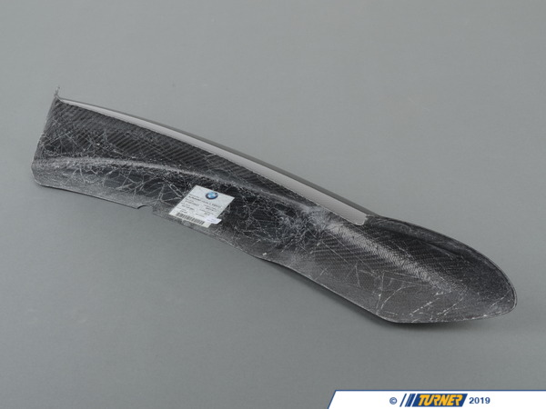 T#5157 - 51192149423 - BMW Left Front Splitter e90 2009+ W Aero Package - BMW Left Front Splitter . - Genuine BMW -