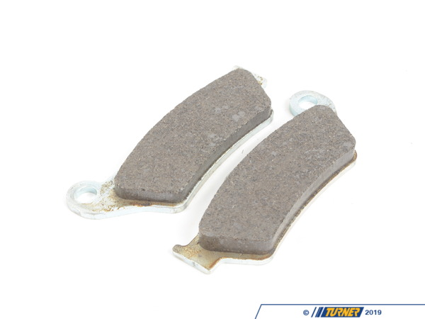 T#62184 - 34212335465 - Genuine BMW Set, Brake Pads, Organic - 34212335465 - Genuine BMW -