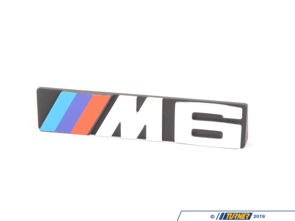 "T#23642 - 51141965980 - Genuine BMW Emblem Front ""M6"" - 51141965980 - Genuine BMW -"