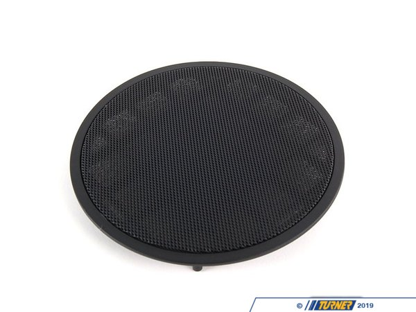 T#98148 - 51418178241 - Genuine BMW Cover Loudspeaker Schwarz - 51418178241 - E38,E39,E39 M5 - Genuine BMW -