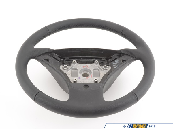 Genuine BMW Genuine BMW Leather Steering Wheel Schwarz - 32346770075 32346770075