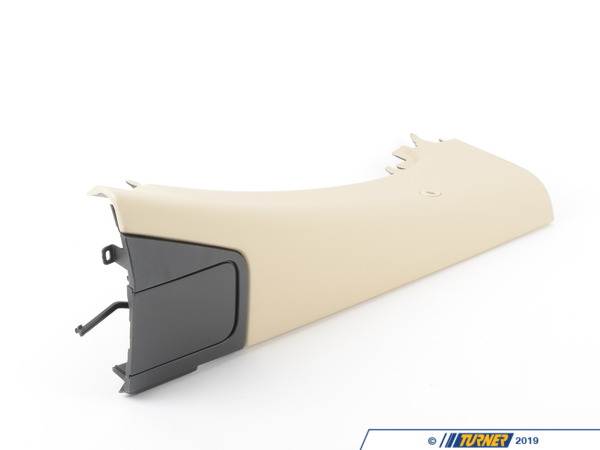 T#105469 - 51439155466 - Genuine BMW Lateral Trim Panel Top Rear Right Creambeige - 51439155466 - Genuine BMW -