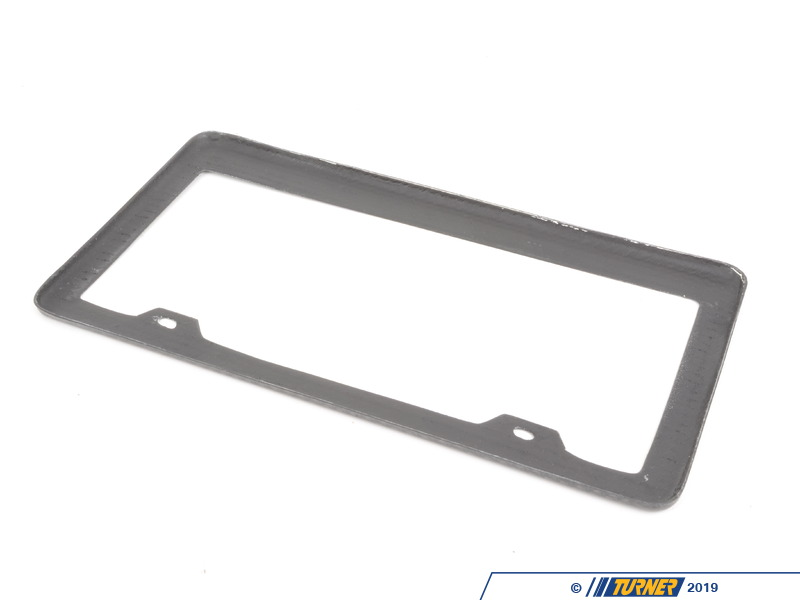 volkswagen sport plate es frame genuine fiber b audi parts license carbon