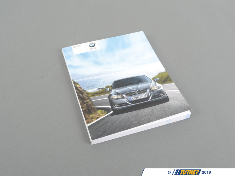 T#26744 - 01412604582 - Genuine BMW Owner's Manual, E90, E91 With Idrive - 01412604582 - E90 - Genuine BMW -
