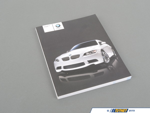 T#26640 - 01412600999 - Genuine BMW Owner's Manual For E92, E93 - 01412600999 - Genuine BMW -