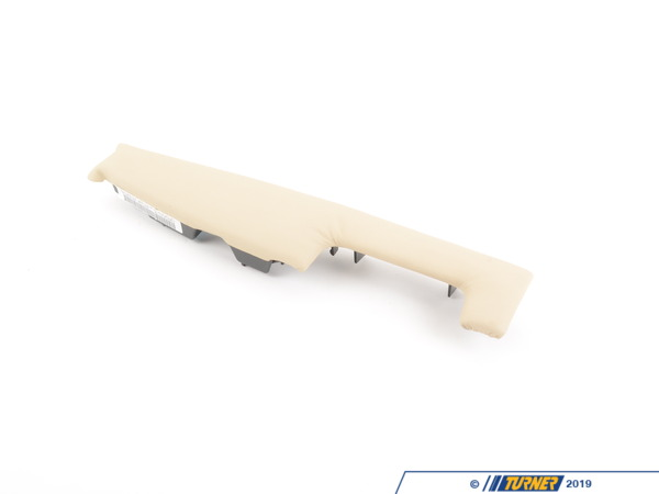 T#216098 - 51417024280 - Genuine BMW Soft Pad, Front Right - Creambeige - 51417024280 - E65, - Genuine BMW -