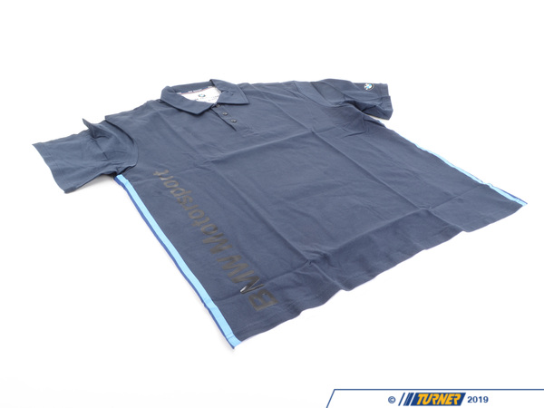 T#165243 - 80302207860 - Genuine BMW Mens Polo Motorsport 2011,Blue, XXL - 80302207860 - Genuine BMW -