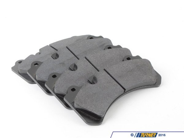 T#16502 - TMS16502 - Brembo Calipers Monobloc N, J - Race Brake Pad Set - Hawk DTC-70 - Hawk - BMW