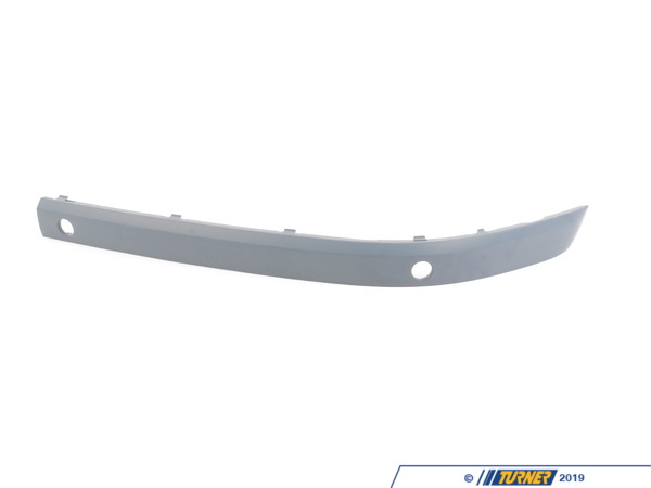 T#76239 - 51117142191 - Genuine BMW Bumper Guard, Primed, Front Left - 51117142191 - E65 - Genuine BMW -