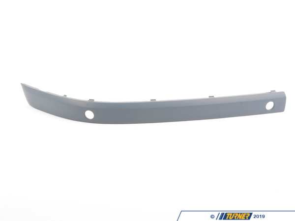 T#76240 - 51117142192 - Genuine BMW Bumper Guard, Primed, Front Right - 51117142192 - E65 - Genuine BMW -