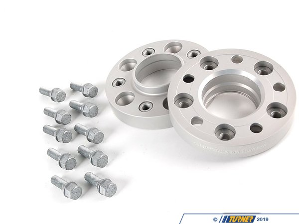 T#3534 - 5075740 - E39 25mm H&R Bolt-On Wheel Spacers (Pair) - H&R - BMW