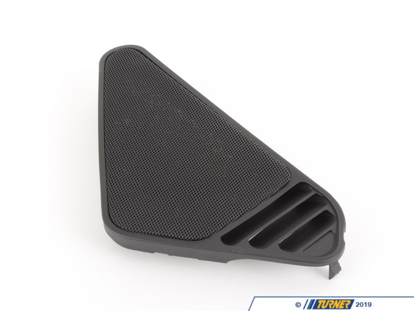 T#106738 - 51451973701 - Genuine BMW Cover Loudspeaker Left Schwarz - 51451973701 - E34,E34 M5 - Genuine BMW -