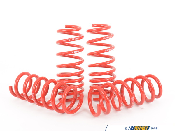 T#12064 - 28991-2 - H&R Super Sport Spring Set - F01 750i - H&R - BMW