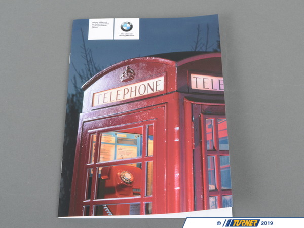 T#26418 - 01410014823 - Genuine BMW Owner's Handbook, Telephone - 01410014823 - Genuine BMW -