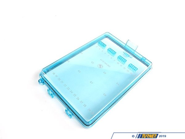 T#10454 - 61131368802 - Fuse Box Cover - E30 E24 E23 - Genuine BMW - BMW