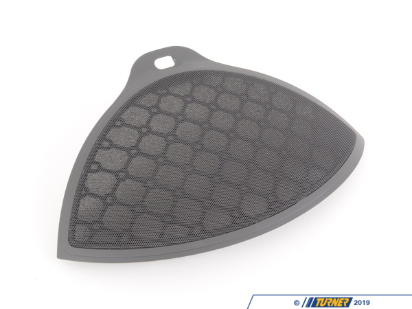 T#107214 - 51457009261 - Genuine BMW Loudspeaker Cover Basaltgrau - 51457009261 - E63 - Genuine BMW -