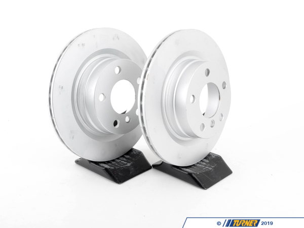 T#341248 - 34216792227KT - Rear Brake Rotors (300x20)- F22 228i, F3X 320i/328i/428i, F33 428i/428iX ULEV (Pair) - Genuine BMW -