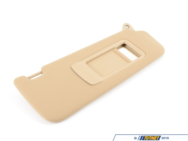 T#82899 - 51166981700 - Genuine BMW Sun Visor, Cloth Right Beige - 51166981700 - E90 - Genuine BMW -