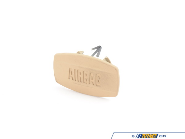 "T#96403 - 51417025685 - Genuine BMW Cover Cap ""Airbag"" Beige - 51417025685 - E65 - Genuine BMW -"