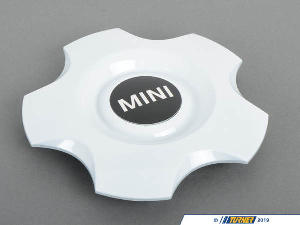 "T#67444 - 36136769756 - Genuine MINI Hub Cap, White 16"" - 36136769756 - Genuine Mini -"