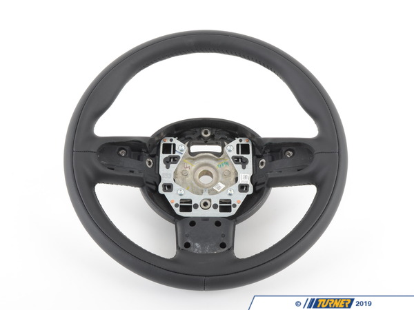 T#56835 - 32306858293 - Genuine MINI Sport Steering Wheel, Leather Goodwood - 32306858293 - Genuine Mini -