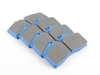 StopTech Calipers ST40 ST45 - Race Brake Pad Set - Hawk Blue 9012