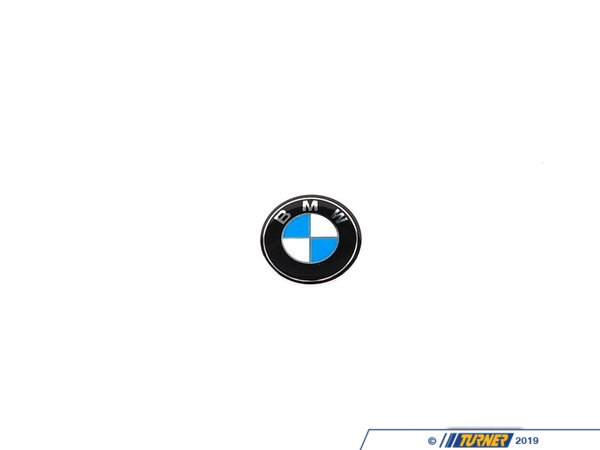 T#11201 - 66122155754 - Genuine BMW Key Emblem - 66122155754 - E63,E82,E90 - Genuine BMW -
