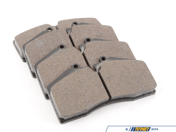 T#3721 - HB141N.650 - Hawk HP Plus Race/Street Brake Pad Set - HB141N.650 - ST40 Calipers - Hawk HP Plus pads were designed for autocross use and are a great pad when a track pad is needed for light use on the street. It was designed specifically for autocross, Solo II, and driver school events. HP Plus pads feature high friction levels in a broad temperature range, allowing you to use these pads to get to and from the track and still achieve race-level braking performance on the course.This pad set fits the following StopTech 4-piston calipers:ST40 / ST45ST40 calipers are found in many StopTech GT Big Brake Kits, including these BMW models:2008-2012  E82 BMW 128i 135i 1M Coupe1992-1998  E36 BMW 318i 318is 318ti 318ic 323is 323ic 325i 325is 325ic 328i 328is 328ic M31999-2005  E46 BMW 323i 323ci 325i 325ci 325xi 328i 328ci 330i 330ci 330xi M32006-2011  E90 BMW 325i 325xi 328i 328xi 328i xDrive 330i 330xi 335d 335i 335xi 335i xDrive M3 - Sedan2006-2012  E91 BMW 325xi 328i 328xi 328i xDrive - Wagon2007-2013  E92 BMW 328i 328xi 328i xDrive 335i 335is 335xi 335i xDrive M3 - Coupe2007-2013  E93 BMW 328i 335i M3 - Convertible2012+ F30 BMW 328i 335i - Sedan1989-1995  E34 BMW 525i 530i 535i 540i M51997-2003  E39 BMW 525i 528i 530i 540i M52004-2010  E60 BMW 525i 525xi 530i 530xi 528i 528xi 528i xDrive 535i 535xi 535i xDrive 545i 550i M52010+  F07 BMW 535i GT, 535i xDrive GT, 550i GT, 550i xDrive GT2011+  F10 BMW 528i 535i 535i xDrive 550i 550i xDrive M52004-2011  E63 BMW 645ci 650i M62012+  F13 BMW 640i 650i1988-1994  E32 BMW 735i 735il 740i 740il 750il1995-2001  E38 BMW 740i 740il 750il2002-2008  E65 BMW 745i 745li 750i 750li 760i 760li2009+ F01 BMW 740i 740li 750i 750li 750i xDrive 750li xDrive 760li1990-1999  E31 BMW 840i 840ci 850i 850ci 850csi2004-2010  E83 BMW X3 2.5i X3 3.0i X3 3.0si2011+  F25 BMW X3 xDrive28i X3 xDrive35i2000-2006  E53 BMW X5 3.0i X5 4.4i X5 4.6is X5 4.8is2007-2013  E70 BMW X5 3.0si X5 4.8i X5 xDrive30i X5 xDrive35d X5 xDrive35i X5 xDrive48i X5M2008+  E71 BMW X6 xDrive35i X6 xDrive50i X6M1997-2002  Z3 BMW Z3 1.9 Z3 2.3 Z3 2.5i Z3 2.8 Z3 3.0i M Roadster M Coupe2003-2008  E85 BMW Z4 2.5i Z4 3.0i Z4 3.0si Z4 M Roadster M Coupe2009+  Z4 BMW Z4 sDrive30i Z4 sDrive35i Z4 sDrive35is - Hawk - BMW