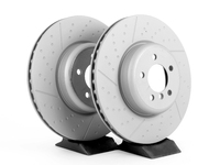 F3X 335i/435i M Sport (S2NHA) Front Zimmermann Dimpled & Slotted Rotors (Pair)