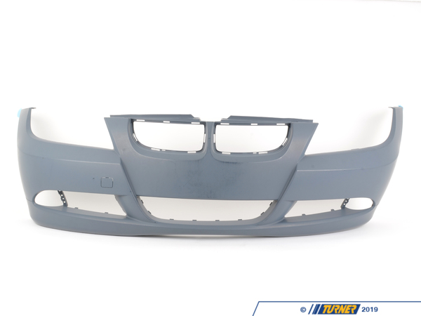 T#76225 - 51117140859 - Genuine BMW Trim Cover, Bumper, Primered, Front - 51117140859 - E90 - Genuine BMW -