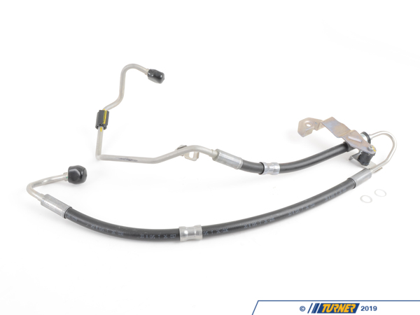 T#58226 - 32416776317 - Power Steering Expansion Hose from Pump to Rack - E9x 335xi - Rein - BMW