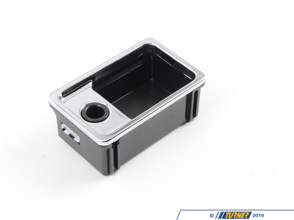 T#85640 - 51168170481 - Genuine BMW Ashtray Insert Schwarz - 51168170481 - E38 - Genuine BMW -