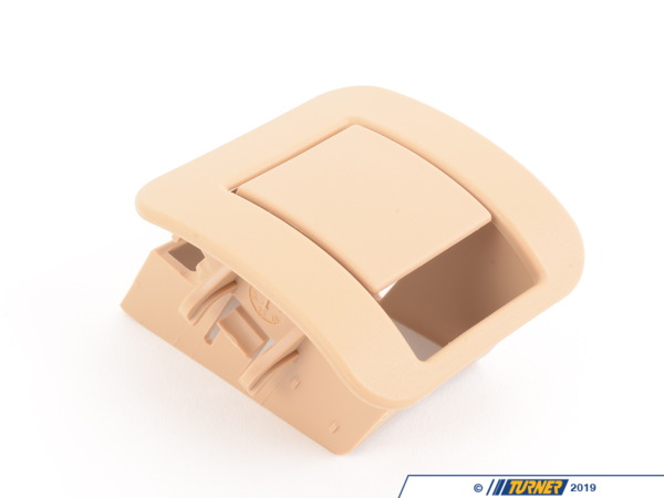 T#129632 - 52207053142 - Genuine BMW Cover Isofix Sandbeige - 52207053142 - E39 - Genuine BMW -