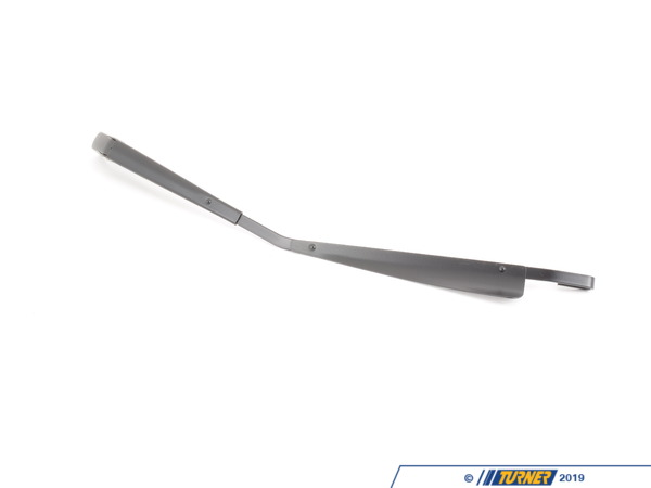 T#144436 - 61611357637 - Genuine BMW Wiper Arm With Air Baffle Plate Left Black - 61611357637 - Genuine BMW -