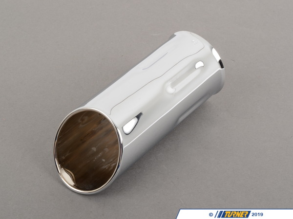 T#11391 - 82119401164 - Genuine BMW Exhaust Pipe Extension Chrome 48 mm - 82119401164 - E34 - Genuine BMW -