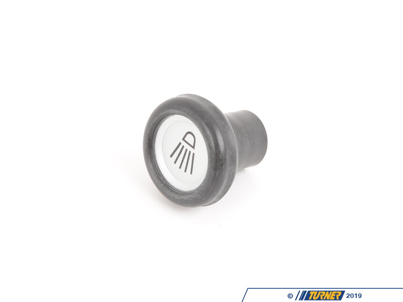 T#141638 - 61311351048 - 2002, E21 Headlight Knob with Label - Genuine BMW -