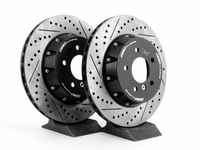 E9X 330/335 ECS 2-Piece Rear Brake Rotors - Pair (336x22)