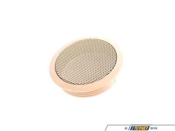 T#153856 - 65138374761 - Genuine BMW Cover Loudspeaker Hellbeige - 65138374761 - E46 - Genuine BMW -