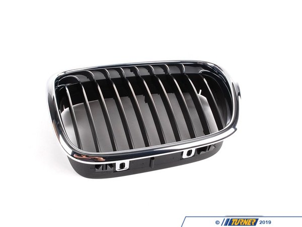 T#21889 - 51132497261 - Genuine BMW Grill - M Chrome - Left - E39 M5 2001-2003 - Genuine BMW - BMW