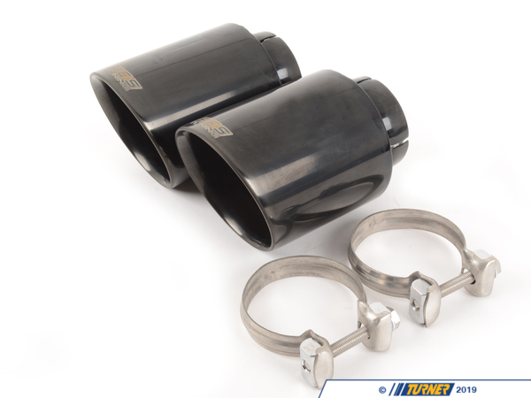 "T#583084 - 003358ecs03a02KT - ECS Tuning Swivel Exhaust Tip Pair - 4.0"" Black Chrome - BMW & MINI - Looking for the most attractive and adjustable tip on the market? Look no further than our ECS Swivel Exhaust Tips!